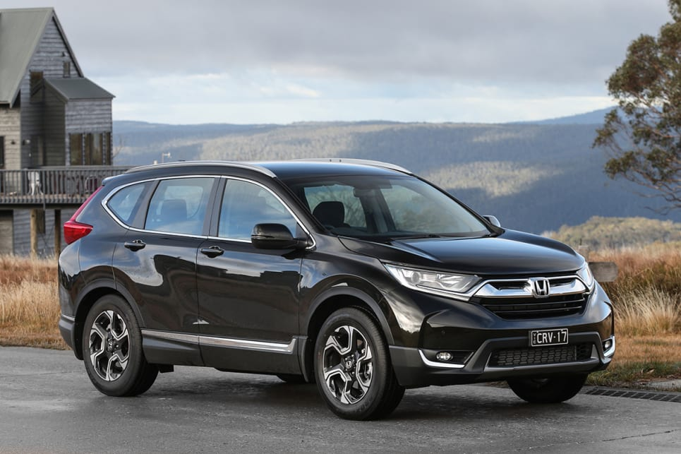 The CR-V scored the maximum five-star ANCAP rating, however it doesn't get the advanced safety equipment of the top spec VTi-LX such as AEB. (VTi-S model shown)