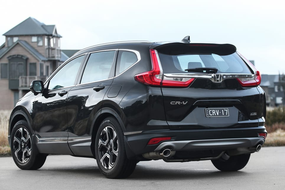 The VTi-S sits on the second rung up in the CR-V range with the front-wheel drive version listing for $33,290, and the all-wheel drive listing for $35,490. (VTi-S model shown)