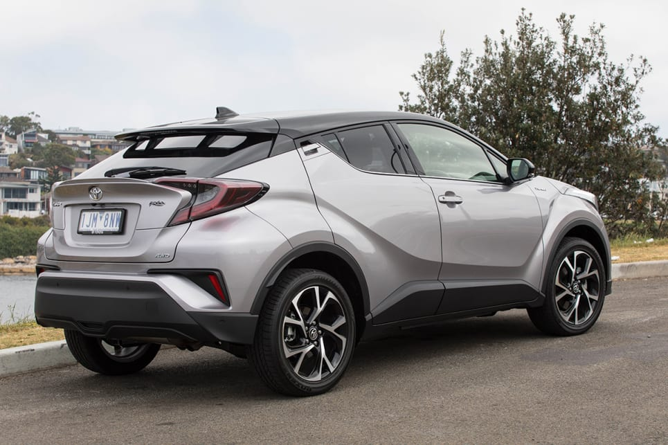 The C-HR is sportier than any regular SUV on the road. (image credit: Dean McCartney)
