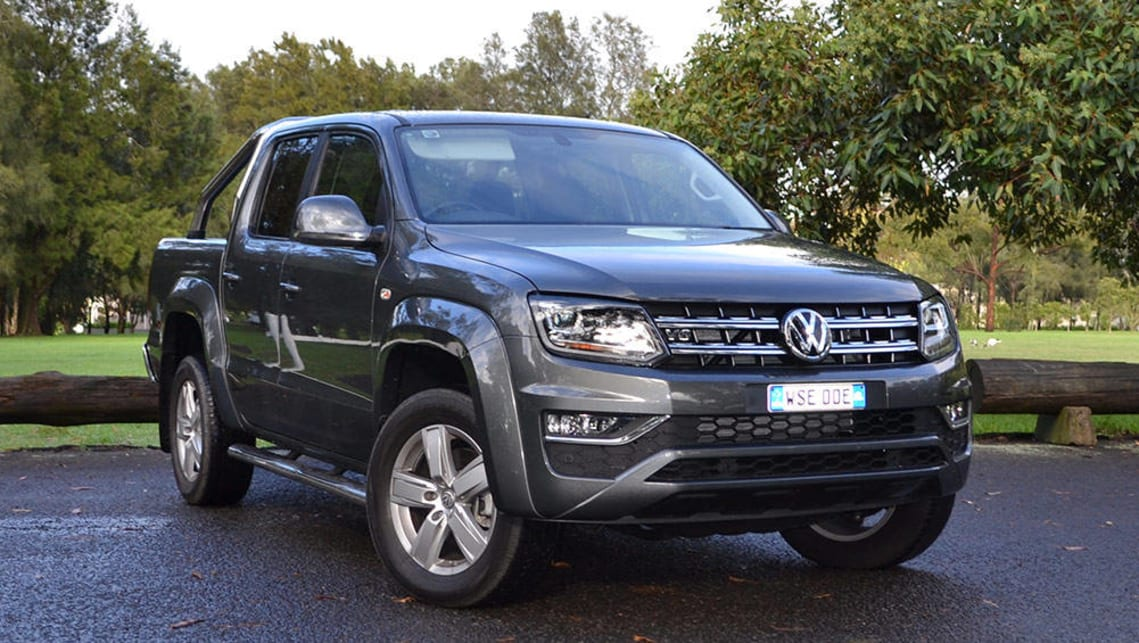 2017 Volkswagen Amarok V6 TDI550 Highline. Image credit: Richard Berry.
