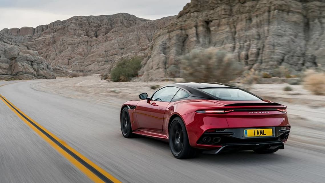2018 Aston Martin DBS Superleggera.