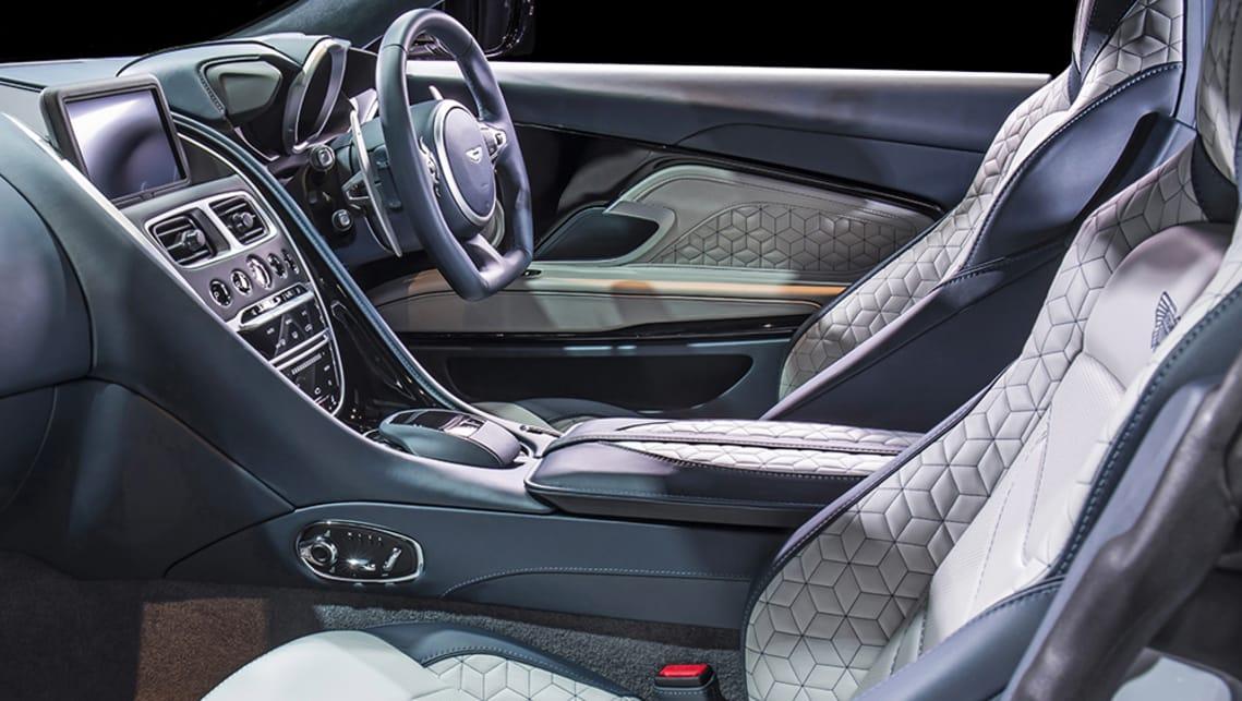 Supercars Gallery Aston Martin Dbs Superleggera Interior White