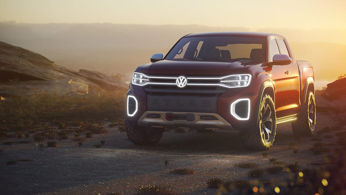 Using the same MQB platform that underpins most of the Volkswagen range, the Atlas Tanoak is a dual-cab 'short-bed' truck.