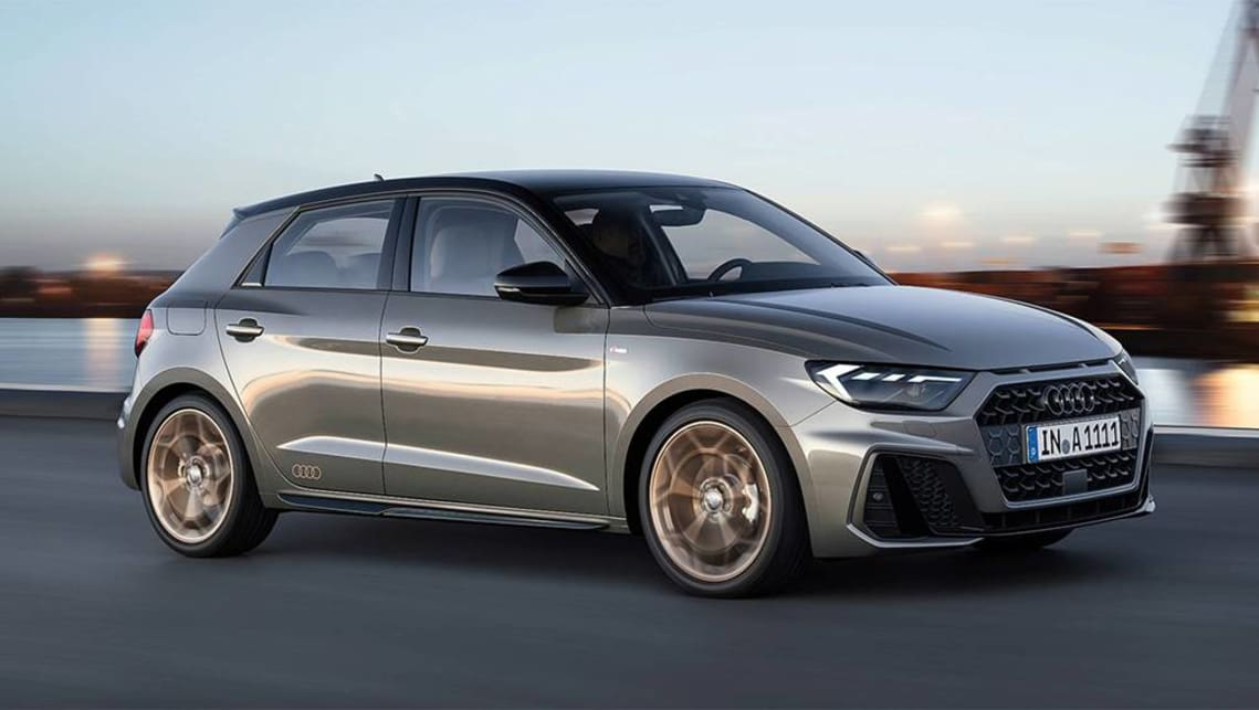 The new A1 has styling that conforms to the brand's updated design language previewed by the recently released Q8 SUV.
