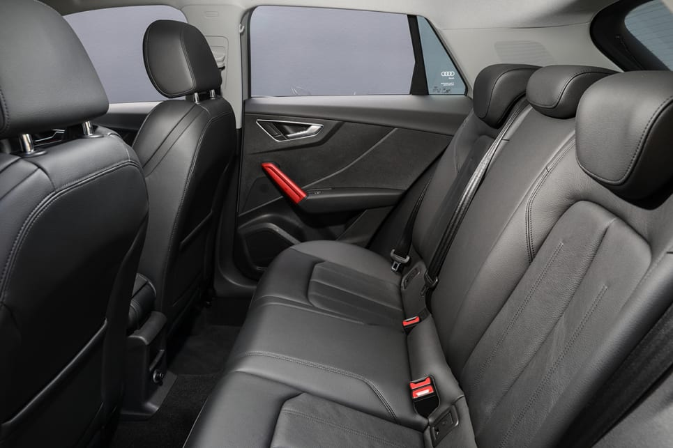 Leather seat trim is standard across the line-up.