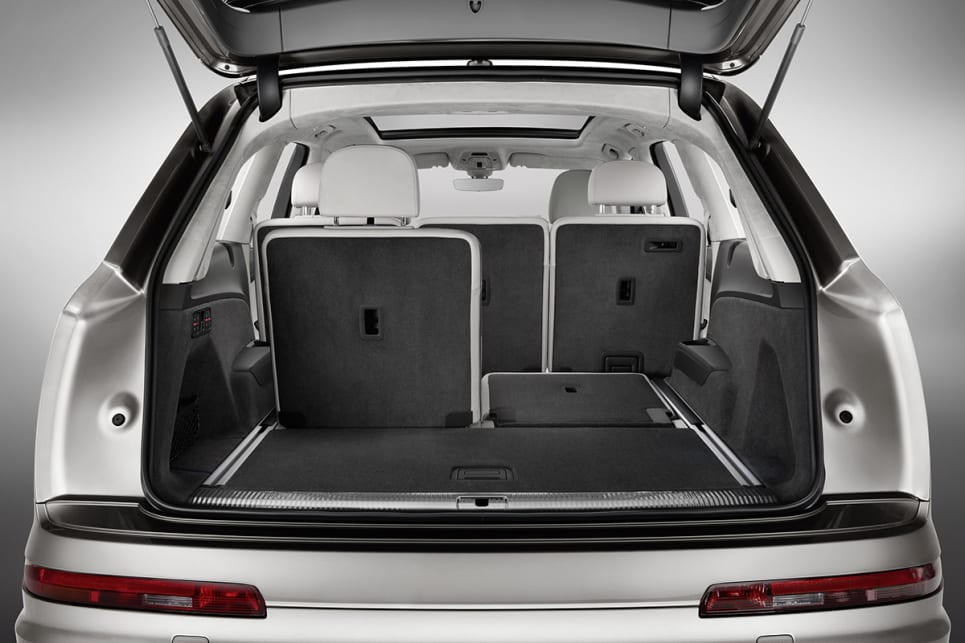 You can fold down the rear seats individually too which allowing you to carry both packages and people at the same time.
