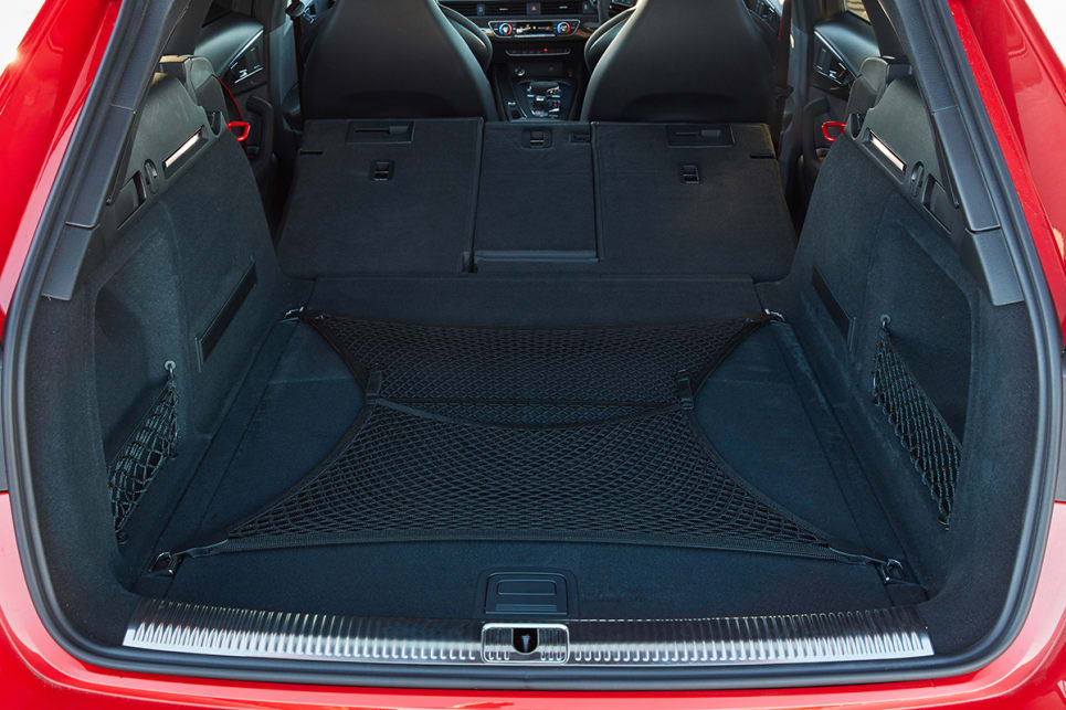 The boot expands to 1510L with the seats down.