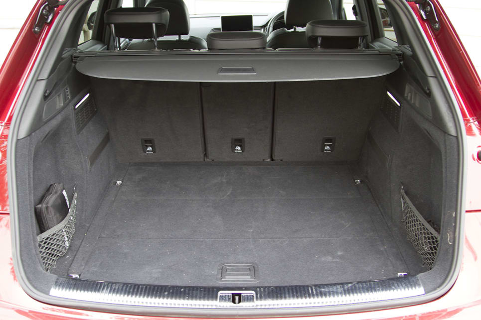 The boot has between 550 and 610 litres of space when the rear seats are in place. (image: Peter Anderson)
