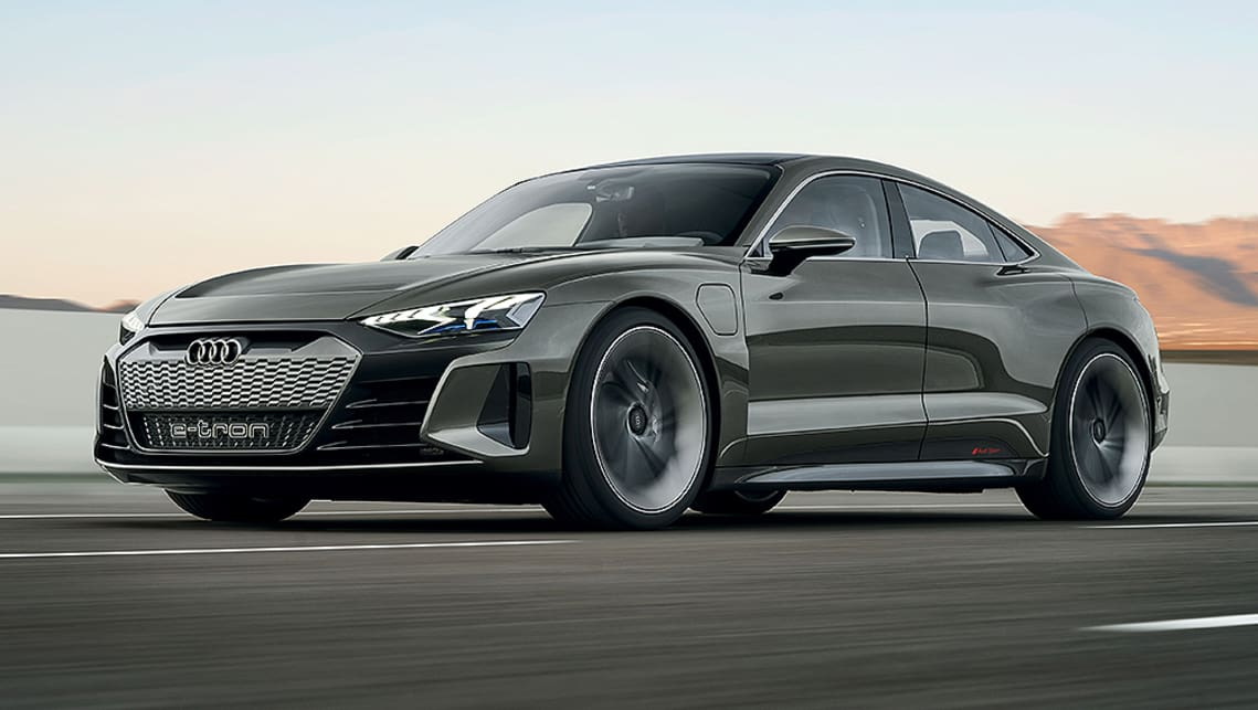 2020 Audi Q4 Unveiled! Release Date And Price >> Audi E Tron Gt 2020 Unveiled In La Car News Carsguide