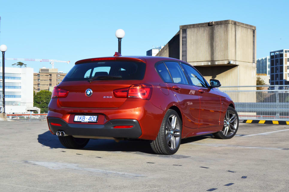 2018 BMW 1 Series. (120i variant shown)