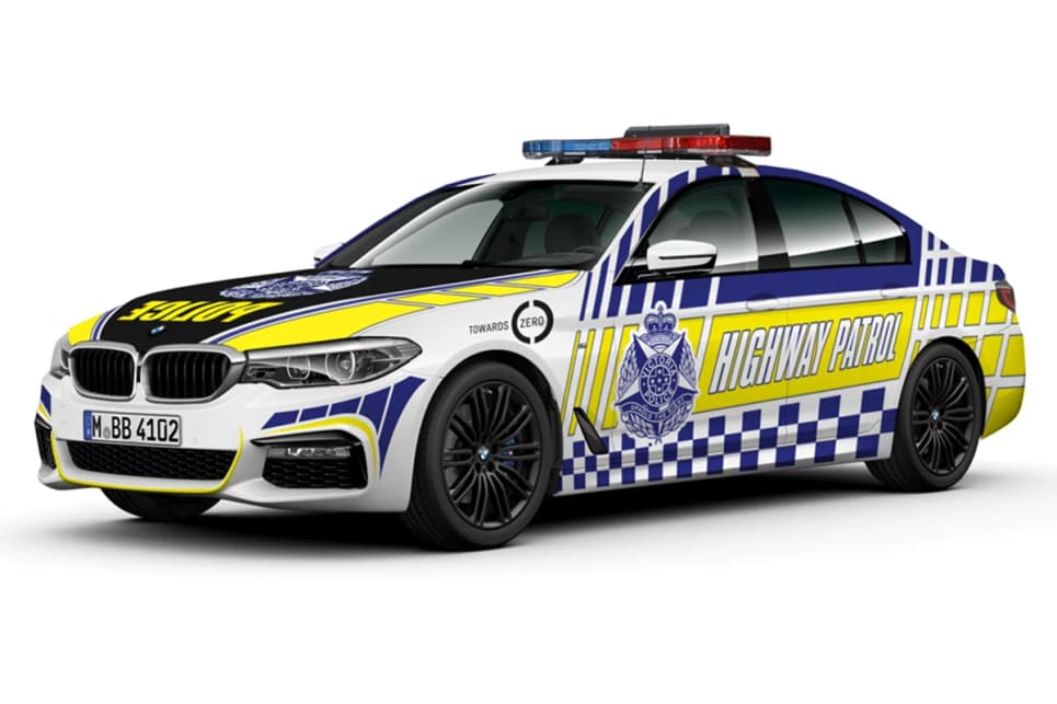 The 530d was confirmed for Victorian Highway Patrol last month.