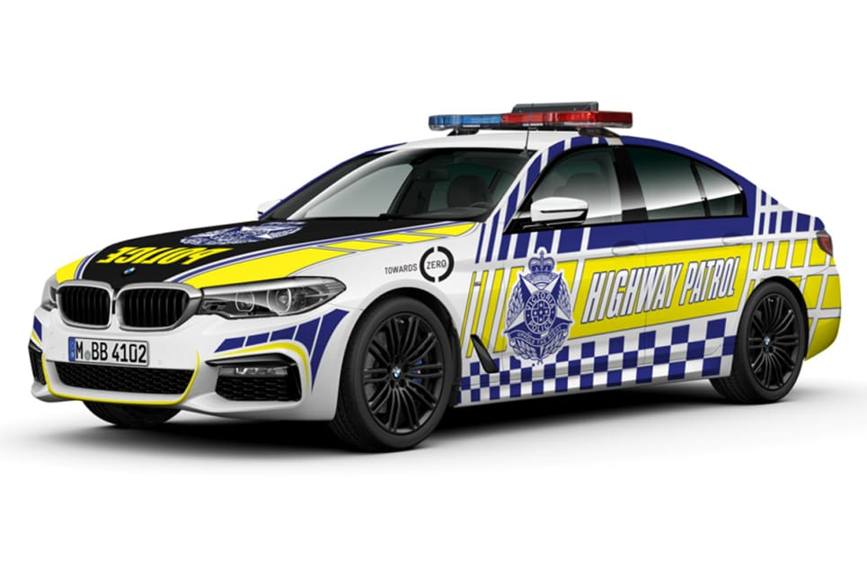 Victorians can expect to see BMW 530d highway patrol vehicles on their roads from early next year.
