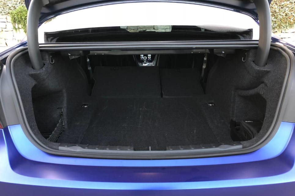 The rear seats fold down in a 60/40 split. (image credit: Andrew Chesterton)