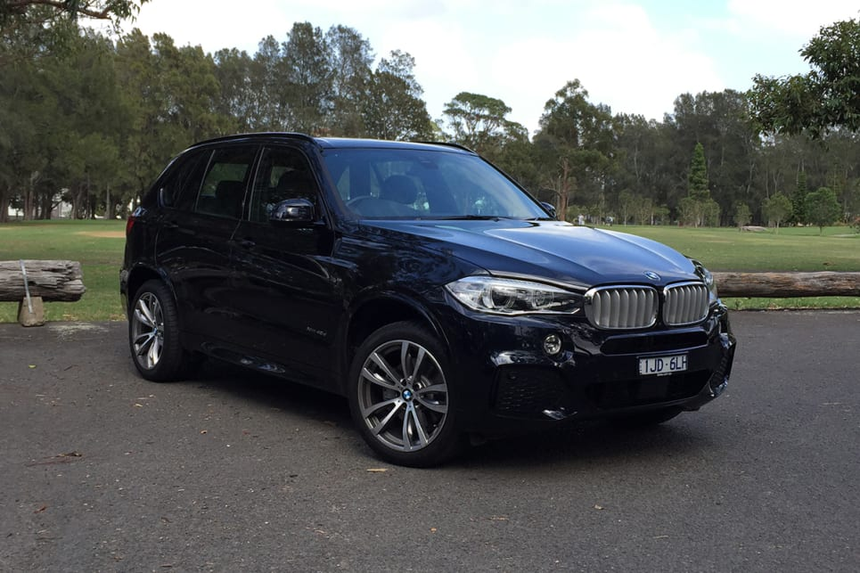 The X5 looks large but elegant. (image: Richard Berry)