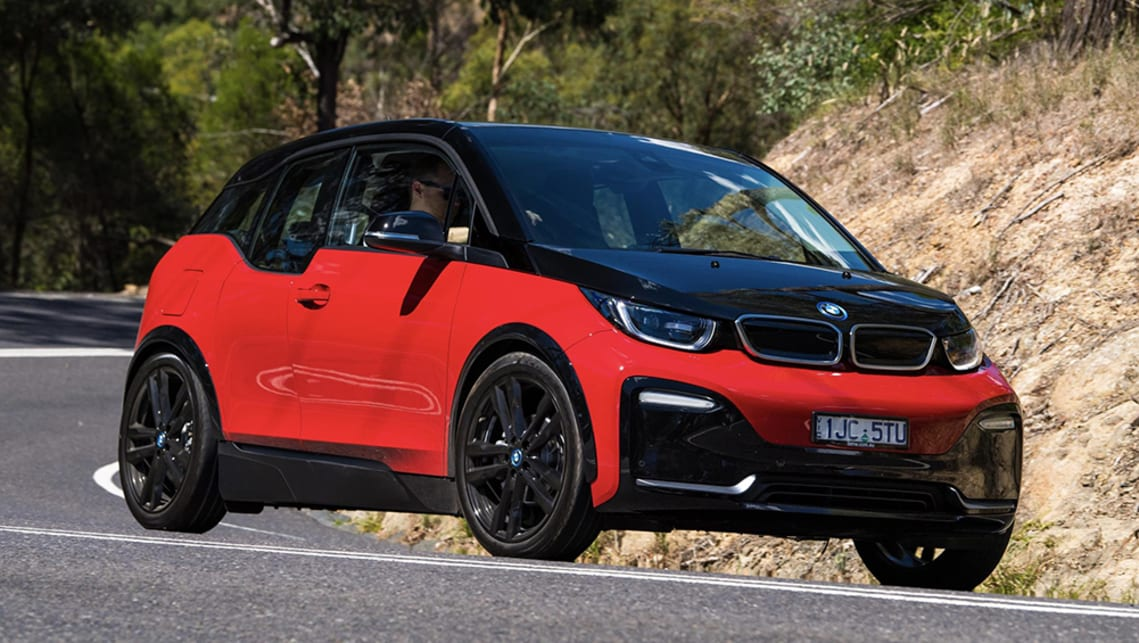The BMW i3, was the brands entry point to the electric car market, with a 200km range it may not be really suitable for a long day of Targa stages. (image: supplied by manufacturer)