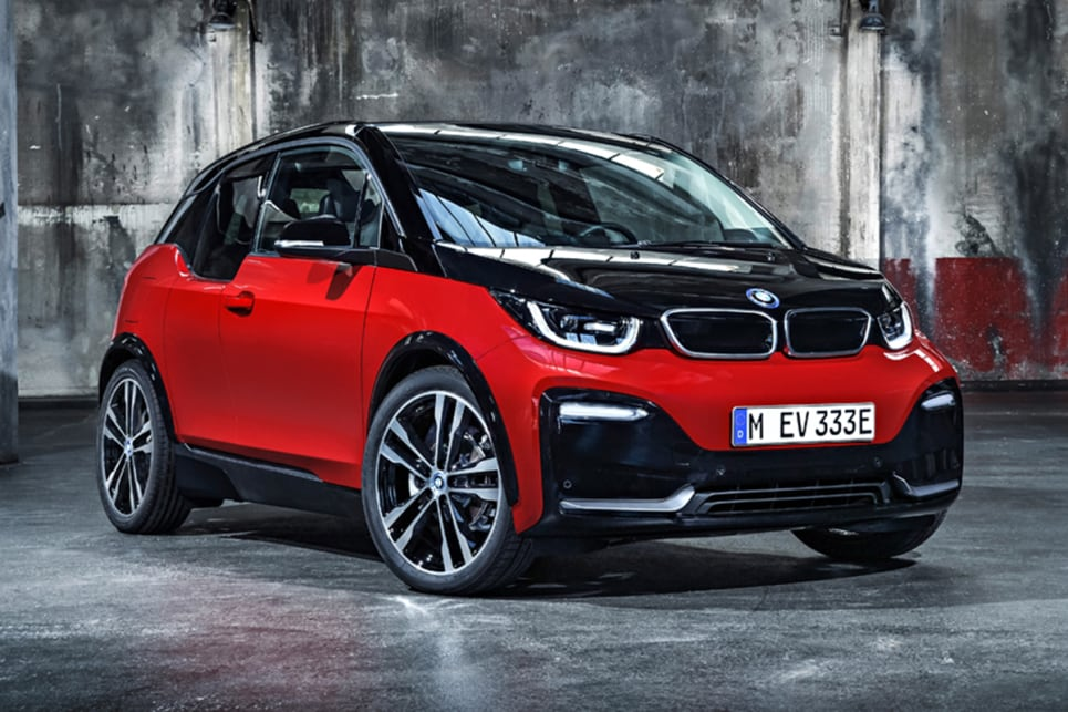 The i3 range is now topped by an i3s model that promises a sportier driving experience,