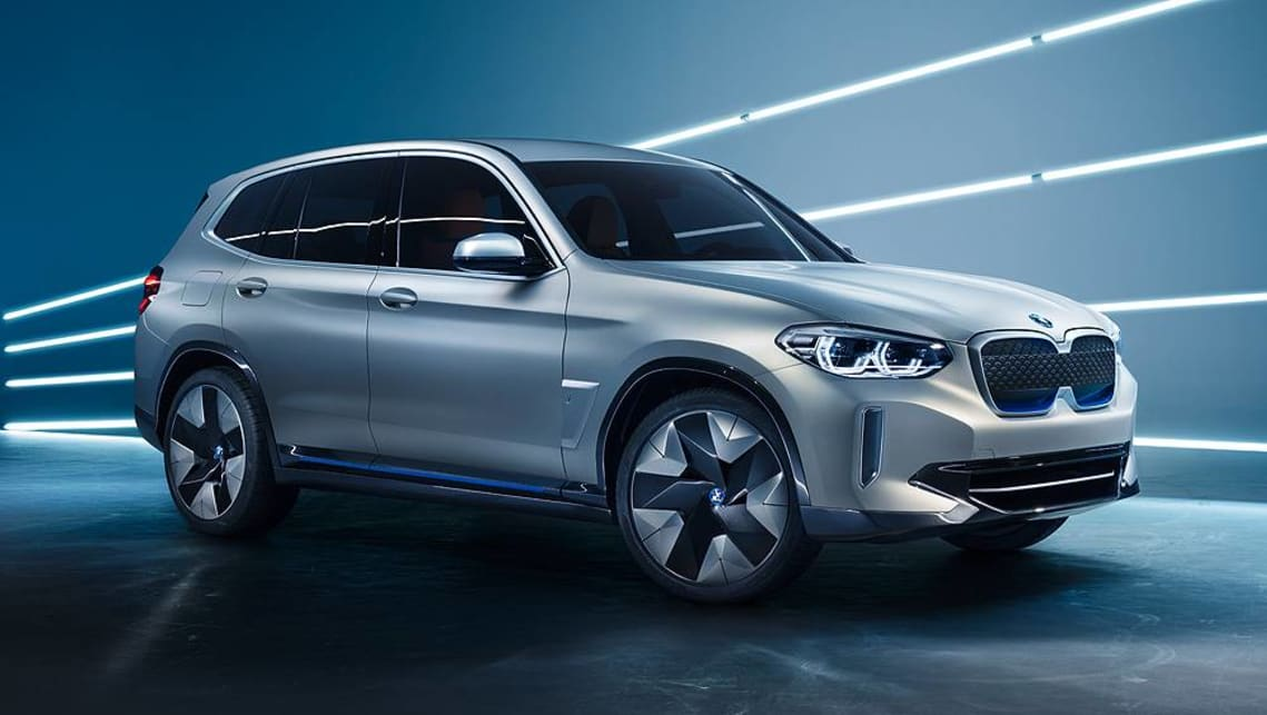 BMW claims the iX3 has a 400km driving range and can be charged in about 30 minutes.