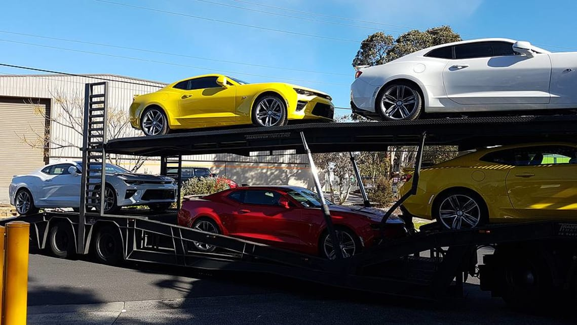 Chevrolet Camaro 2018: First cars spied in Australia - Car
