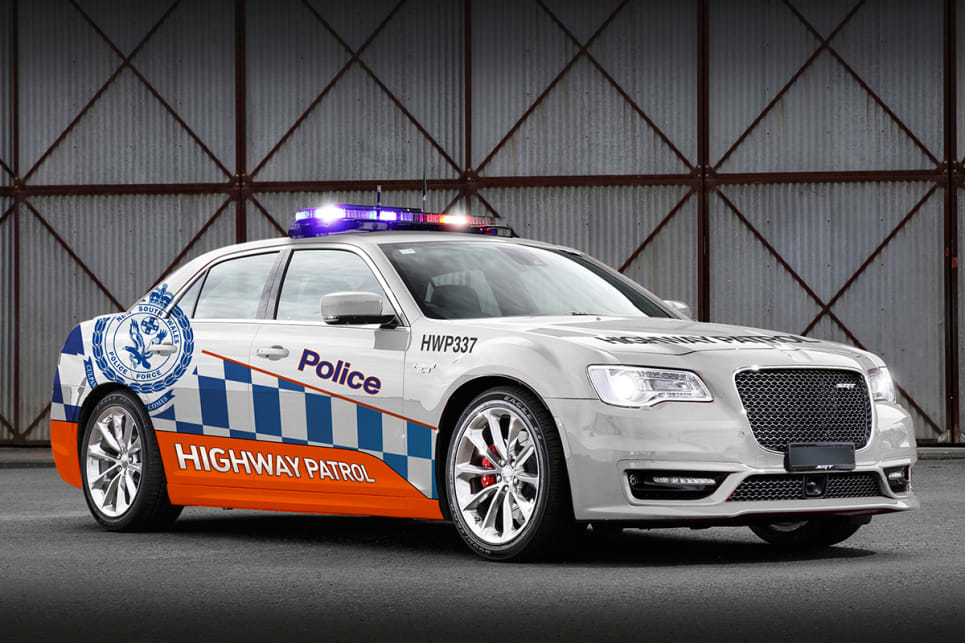 There's already one fully liveried Chrysler 300 SRT on the government fleet.