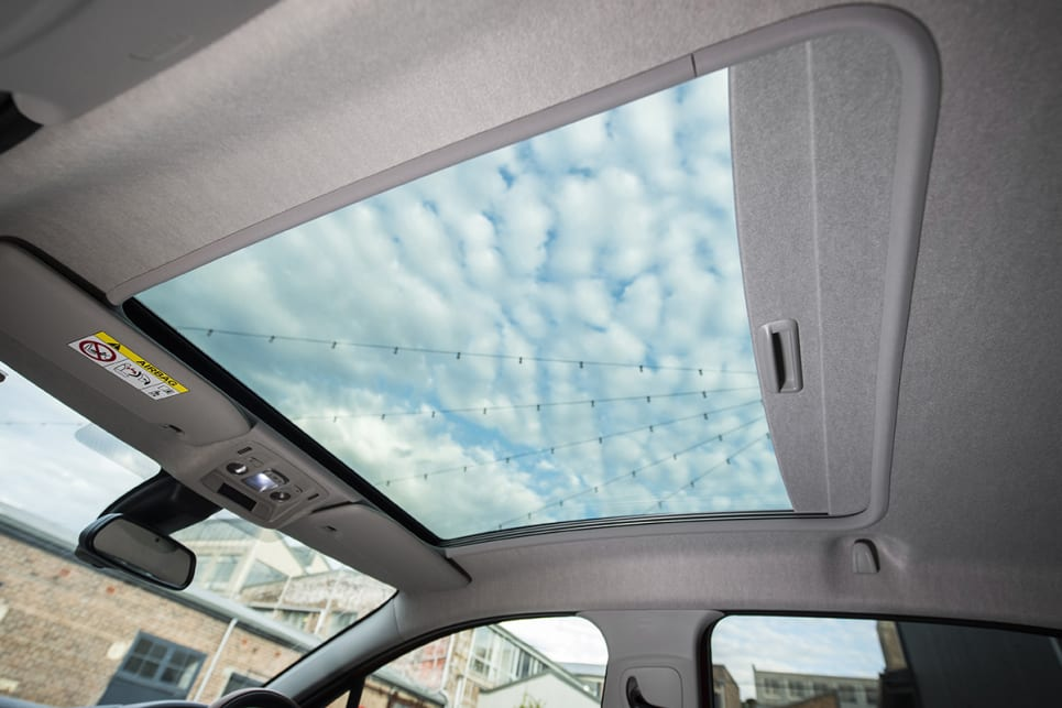 Or fling the tin altogether for the $600 panoramic sunroof.