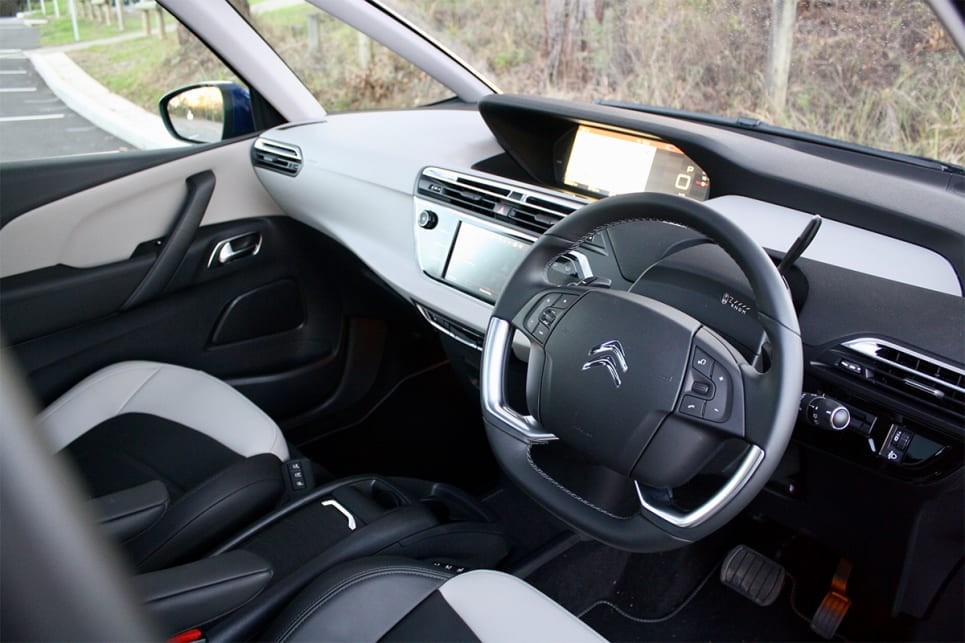 Inside, there's a 7.0-inch media screen with built-in sat nav that displays on the 12.0-inch high-definition screen up top.