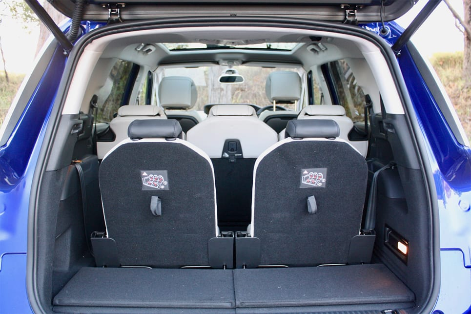 With all the seats up there is 165 litres of space. (image credit: Matt Campbell)