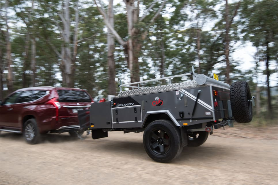 The Brumby is not a huge unit – in terms of weight or dimensions – so it is very easy to tow and monitor on the move. (image credit: Brendan Batty)