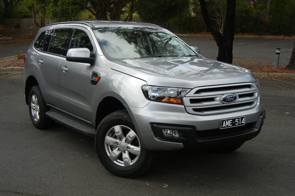 2018 Ford Everest. (Ambiente variant shown)