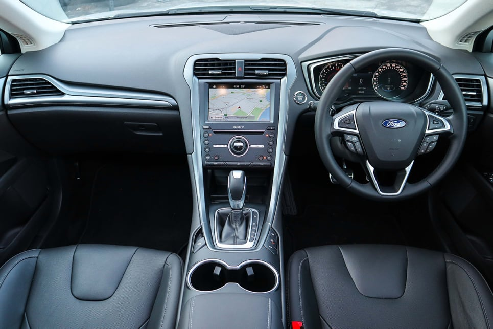 The range-topping Titanium includes Ford's 'Sync 3' multimedia system. (image credit: Tim Robson)
