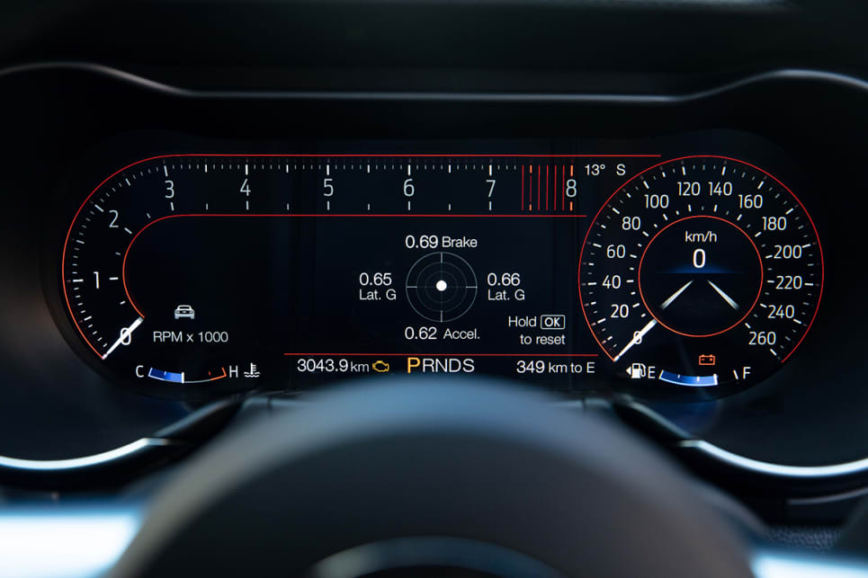 The GT is equipped with a clever and colourful 12.4-inch instrument cluster that you can configure to your liking.