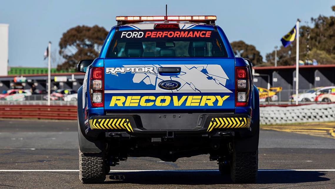 For the 2019 season, the Ranger Raptor will be joined by the Ford Performance Mustang Supercar.