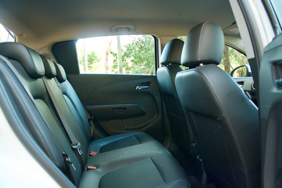 The Barina has one of the larger interiors of the segment, thanks in large part to its high roofline.