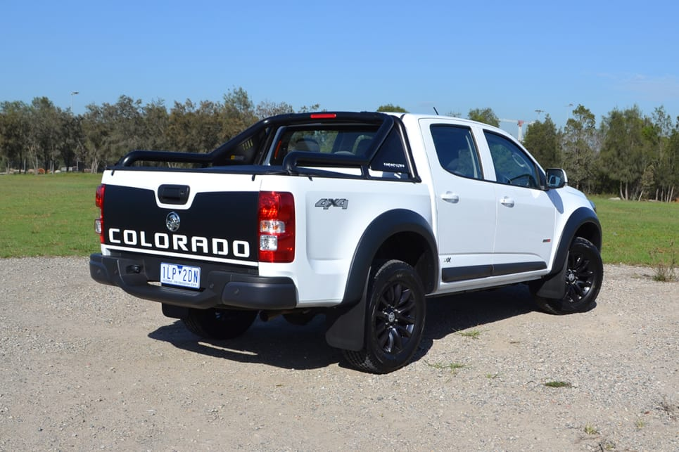 2018 Holden Colorado. (LSX variant shown)