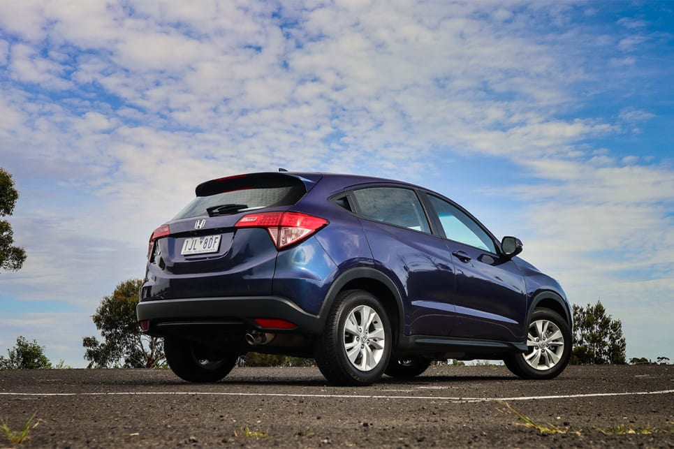 There's a lot of visual weight that sits high and back on the HR-V. (image credit: Tim Robson)