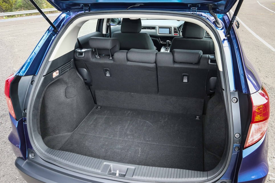 With the rear seats up, there is 437 litres VDA of boot space. (image credit: Tim Robson)