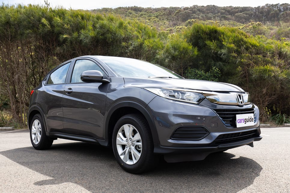 We all felt the design of the face-lifted Honda HR-V wasn't improved with the recent mid-life update. (image credit: Dean McCartney)