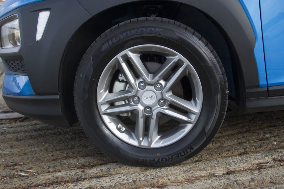 The Active gets 16-inch alloy wheels. (image credit: Peter Anderson)