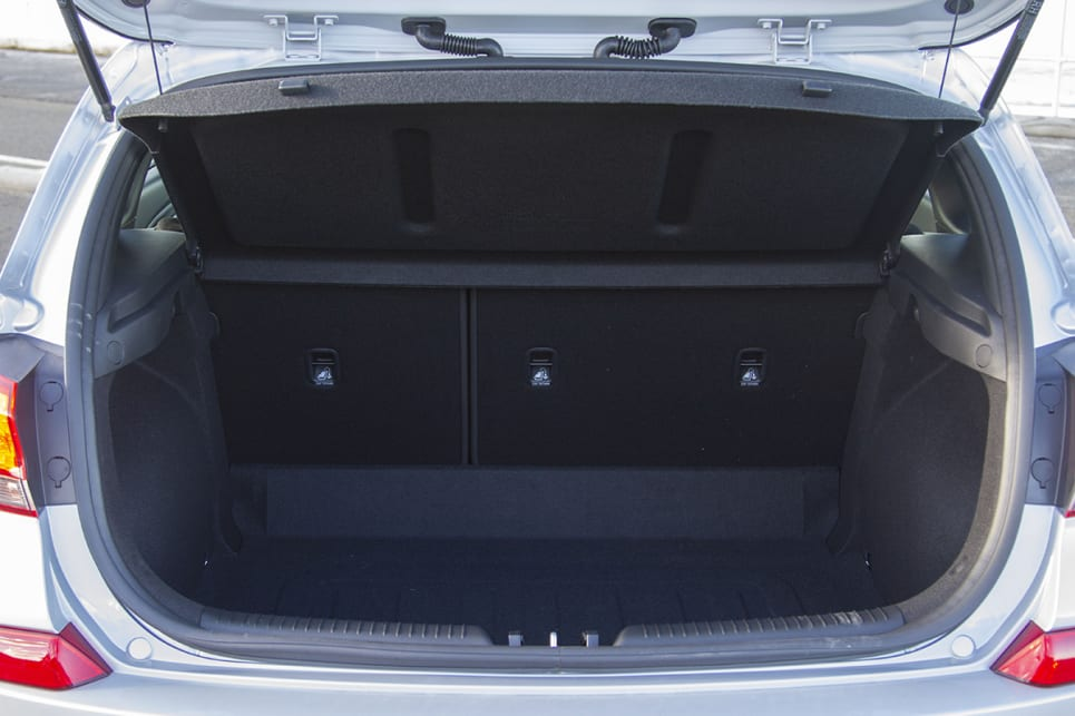 The boot space dimensions are near the top of the class.