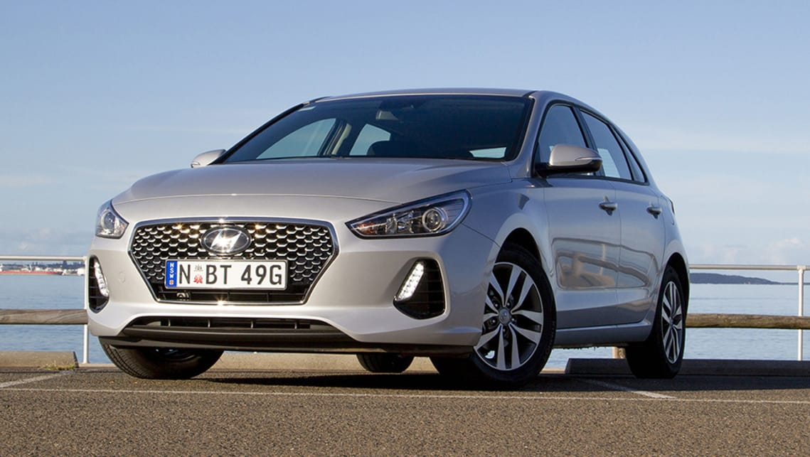 Not just better, but better looking, too, the new i30 is a little beauty.