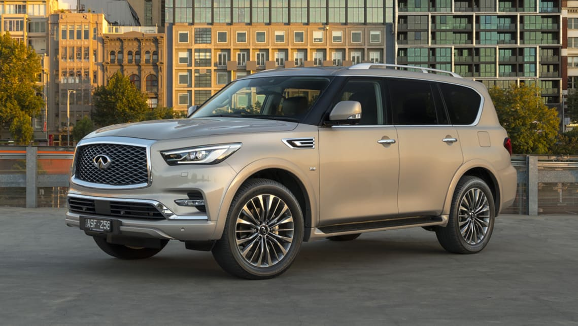 2018 Infiniti QX80: News, Design, Features, Price >> Infiniti Qx80 2018 Pricing And Spec Confirmed Car News Carsguide