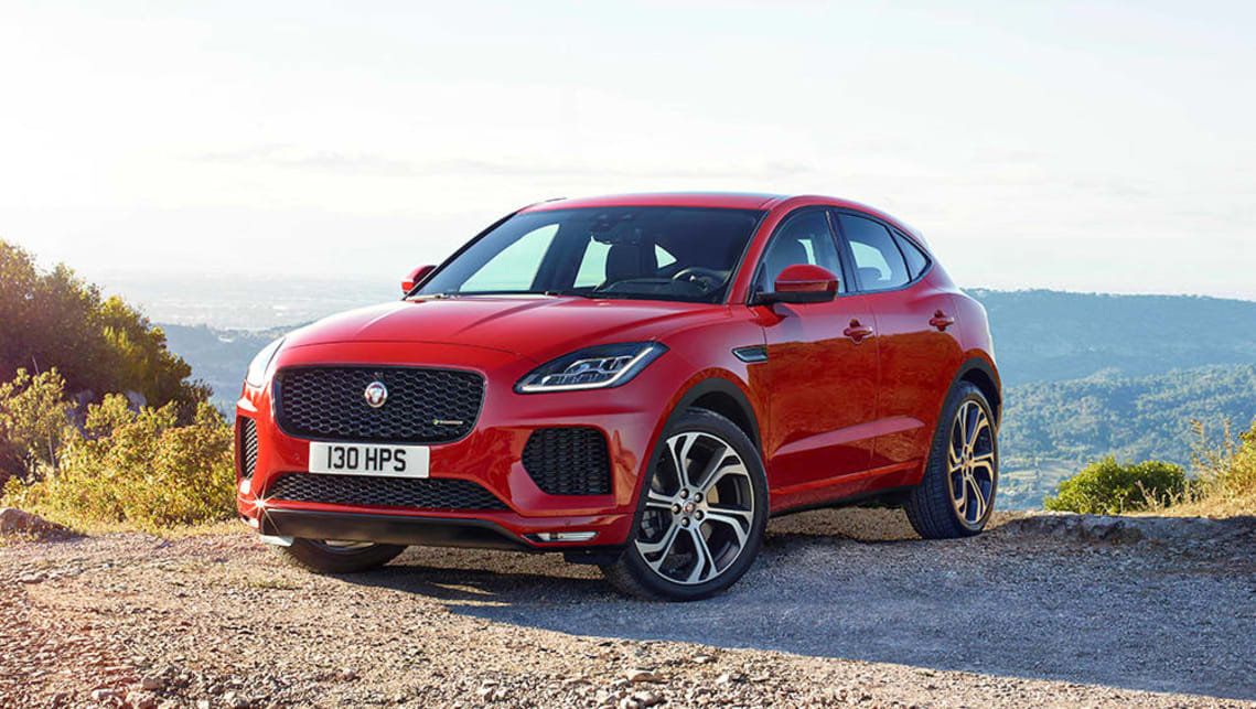 The E-Pace is intended to be less of a  scaled-down F-Pace and more an SUV-ified F-Type.