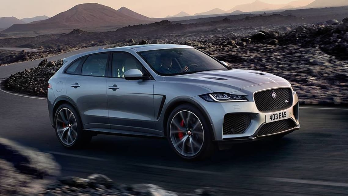 2019 Jaguar F-Pace SVR: News, Design, Engine, Price >> Jaguar F Pace Svr 2019 Revealed In New York Car News
