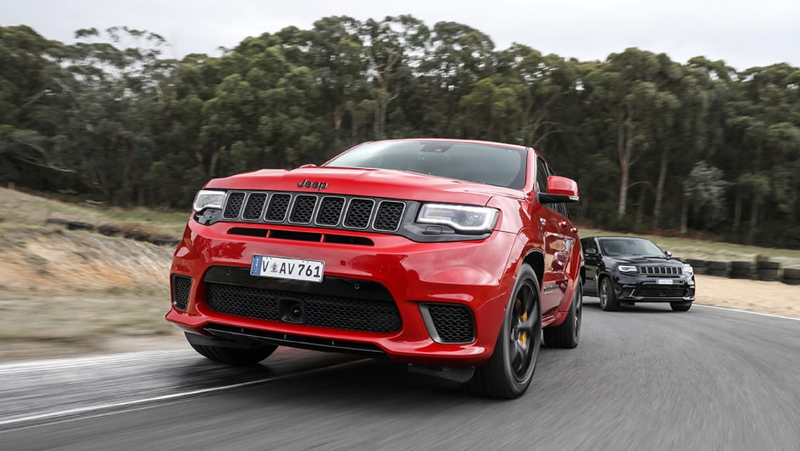 Jeep Trackhawk Range To Expand Beyond Grand Cherokee Car News