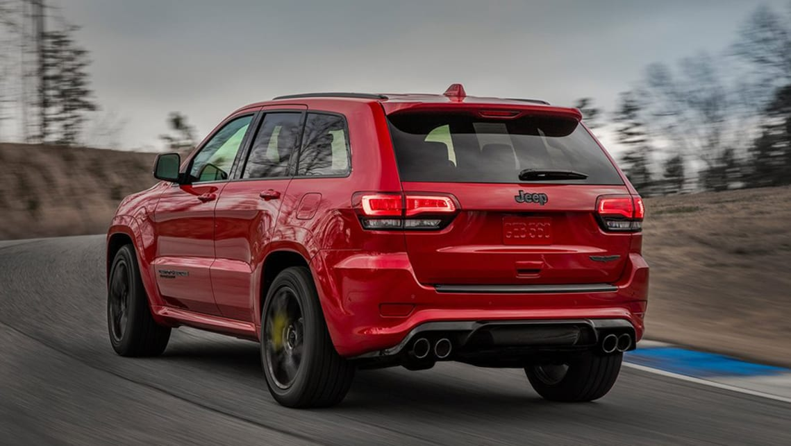 Jeep Grand Cherokee Trackhawk Confirmed For Australia Car News