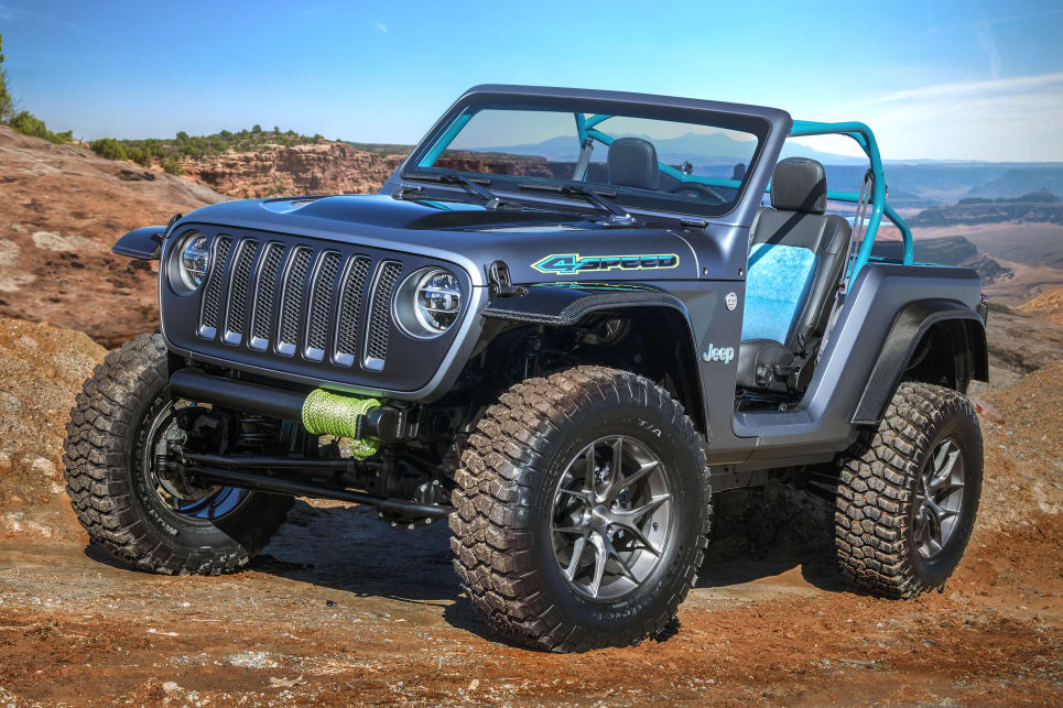 Jeep Wrangler 4SPEED 2018 Moab concept.