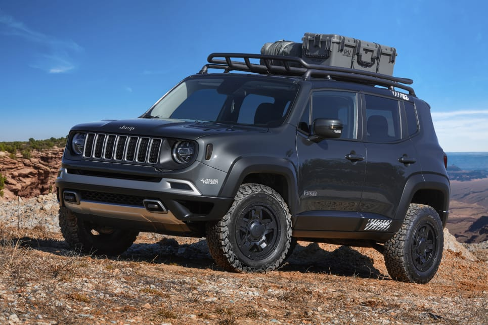 Jeep Renegade B-Ute 2018 Moab concept.