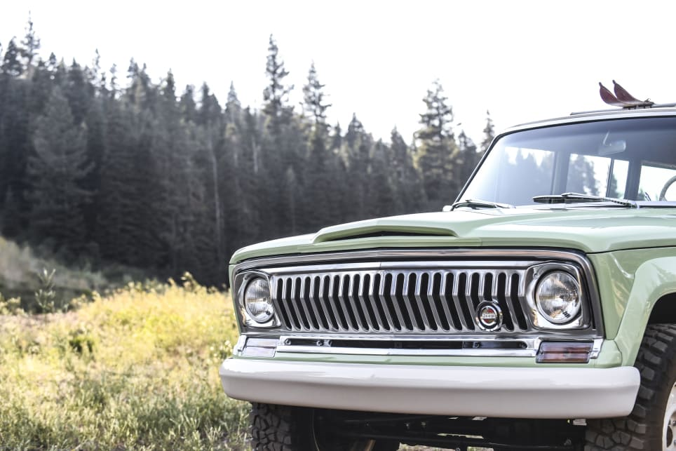 The '67 nose was ditched for Roadtrip in favour of a '72 full-width grille.