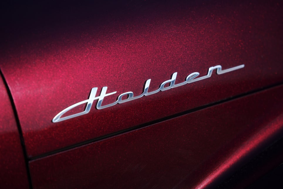 Even the Holden badge references the FJ-era font.