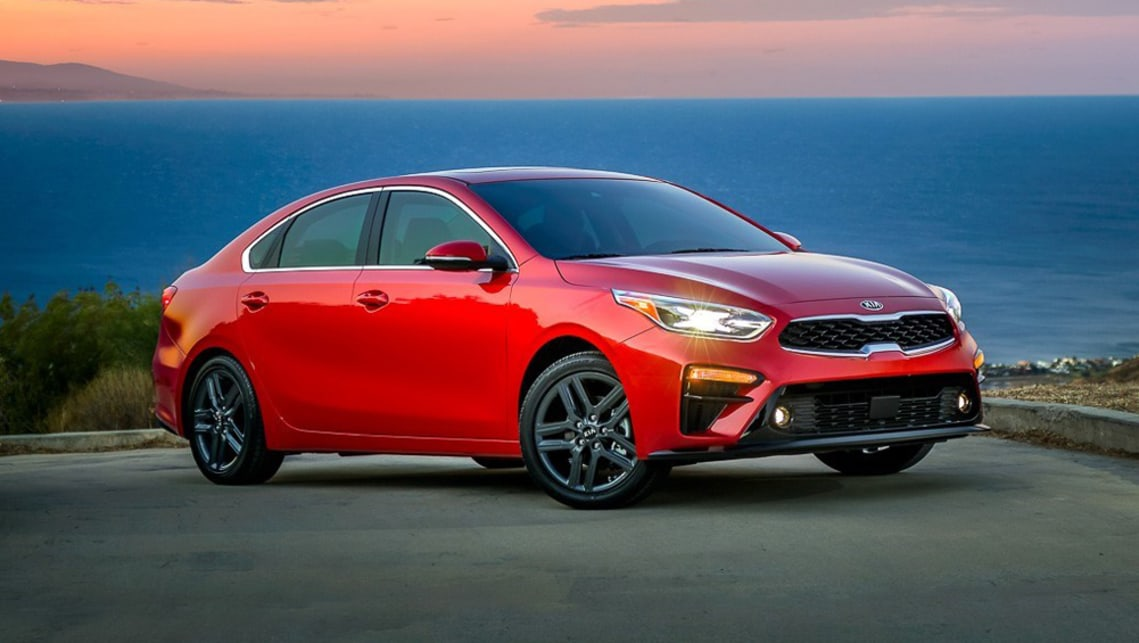Kia has used its Stinger performance sedan as a basis for the styling of its new Cerato four-door small car.