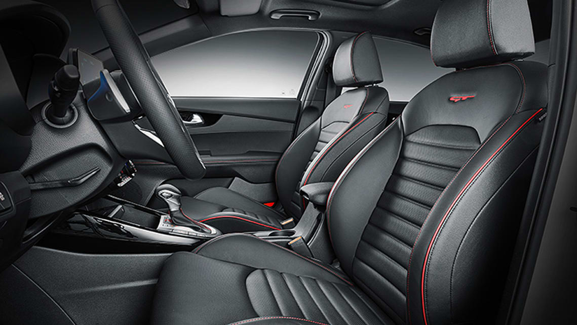 It's likely the Aussie version will gain much of the same gear such as leather sports seats.